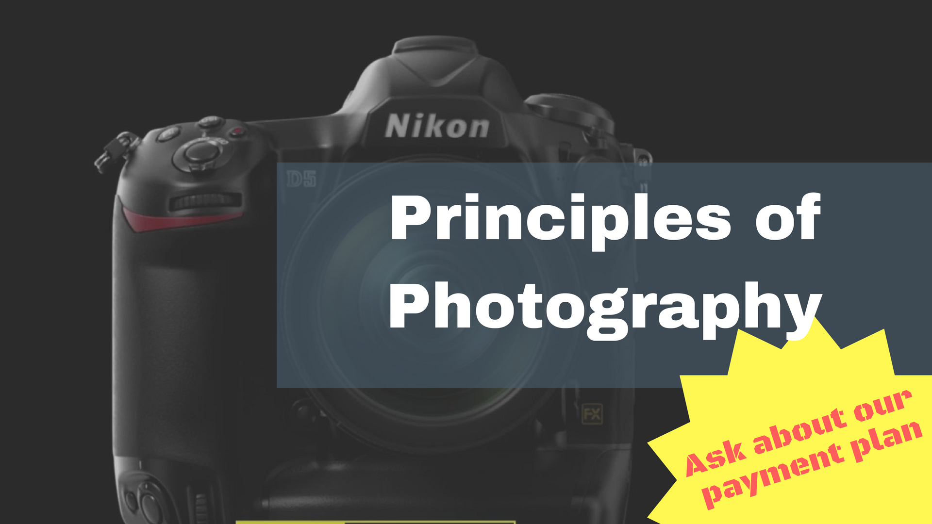 Principles of Photography – Photography class in the Bahamas