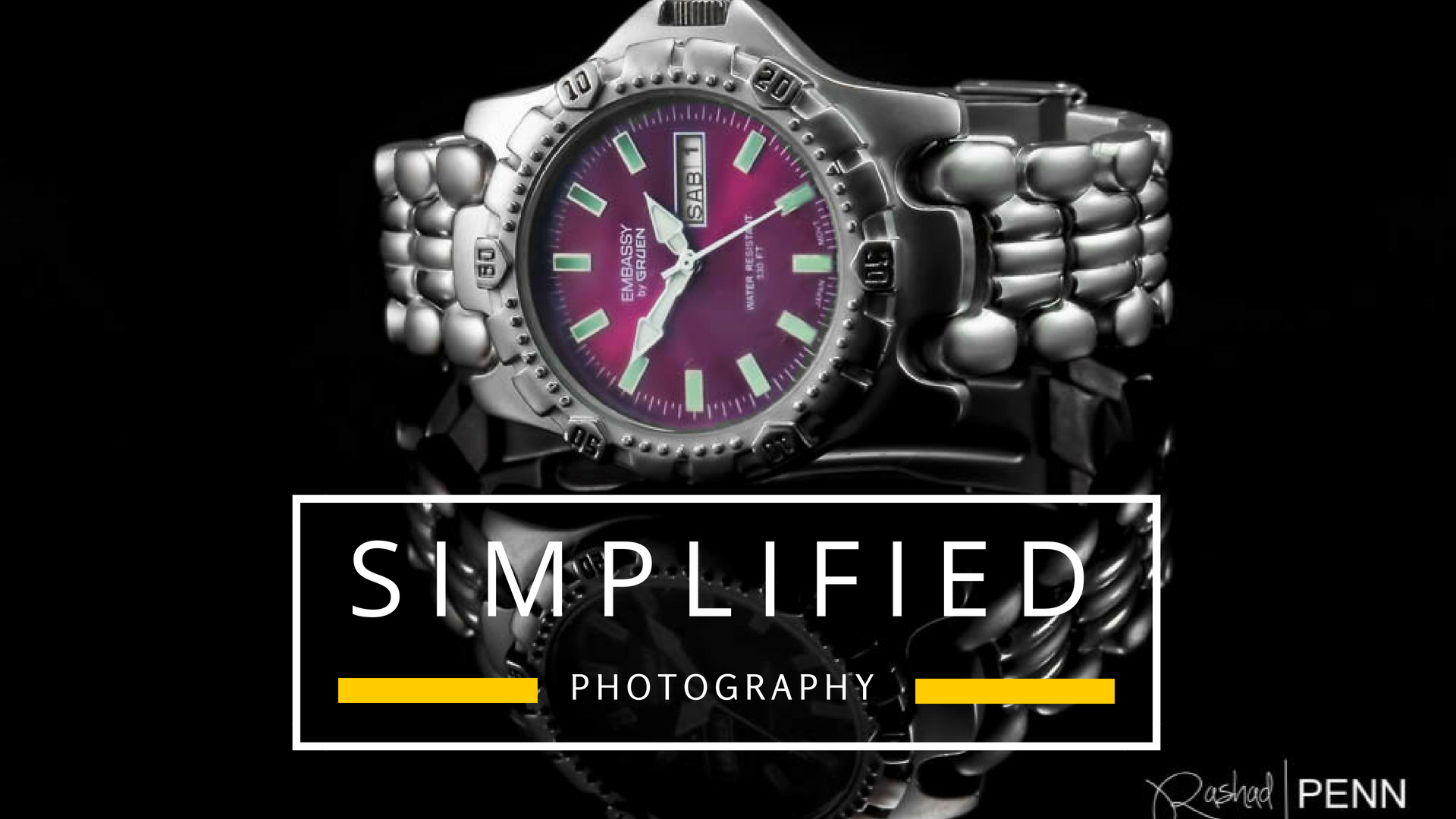 Simplified Jewelry Photography